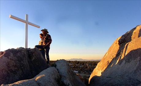 Mojave Memorial Cross in California